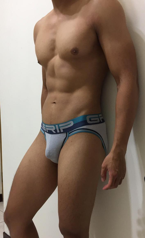 男生內褲-Grip Mesh Sport Brief 內褲